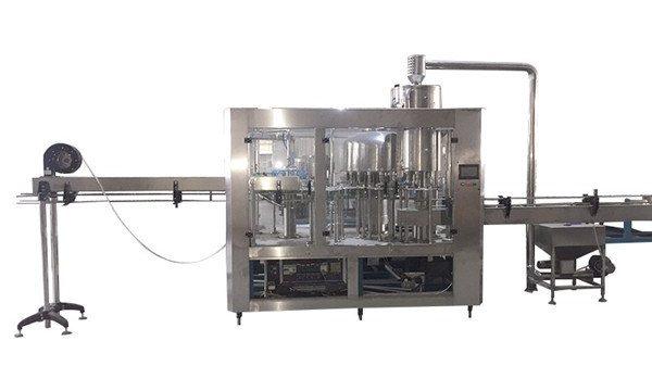 دی بوتل بھرنے والی مشین۔