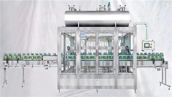 چکنا تیل کے لئے روٹری بھرنے والی مشین کا وزن۔