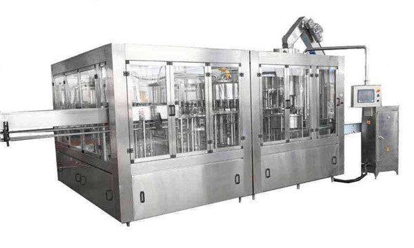 8000BPH خودکار ناریل آئل بھرنے والی مشین لائن۔
