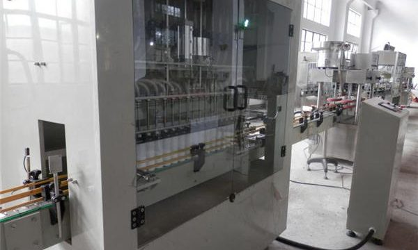 سٹینلیس اسٹیل مکمل خودکار بلیچ بھرنے والی مشین۔