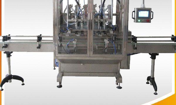 آٹو اوور فلو کشش ثقل کی بوتل مائع بھرنے والی مشین۔