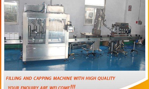 اعلی موثر 5 لیٹر مکمل خودکار تیل بھرنے والی مشین۔