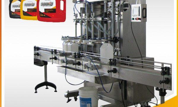 500ML-2L خودکار مائع ڈٹرجنٹ بھرنے والی مشین / واشنگ مائع بھرنے والی مشین