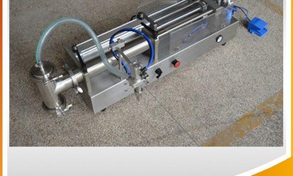 نیم خودکار پسٹن بھرنے والی مشین آئیڈیل آئل بھرنے والی مشین۔