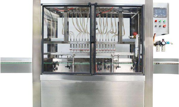 مکمل خودکار 10 سروں کاسمیٹک کریم جام بھرنے والی مشین۔