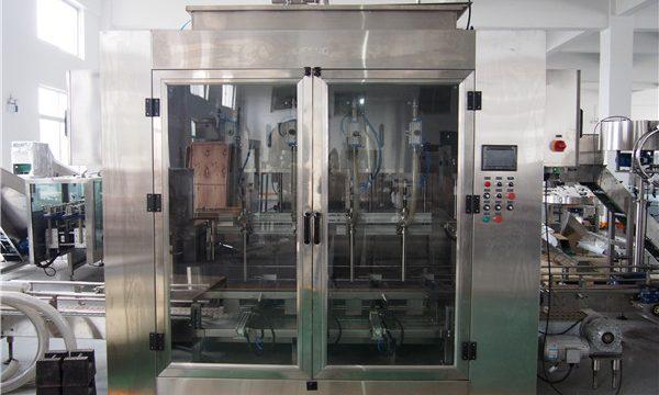 خودکار فوڈ آئل بھرنے والی مشین اور زیتون کے تیل کی پیکنگ مشین۔