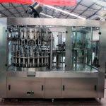 تیل / مصفا پانی کے لئے خودکار اسٹینلیس اسٹیل مائع بھرنے والی مشین۔
