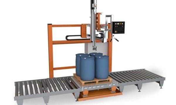 200L ڈھول مائع بھرنے والی مشین۔