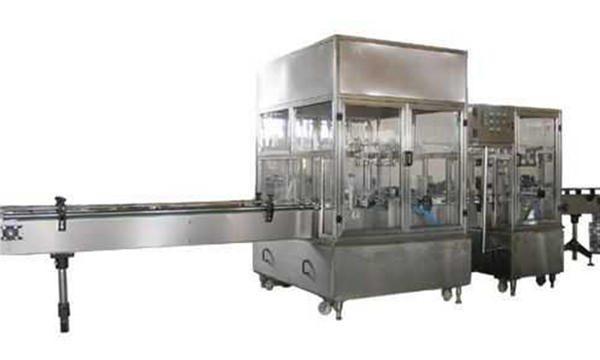 مکمل طور پر خودکار مائع صابن بھرنے والی مشین لائن۔