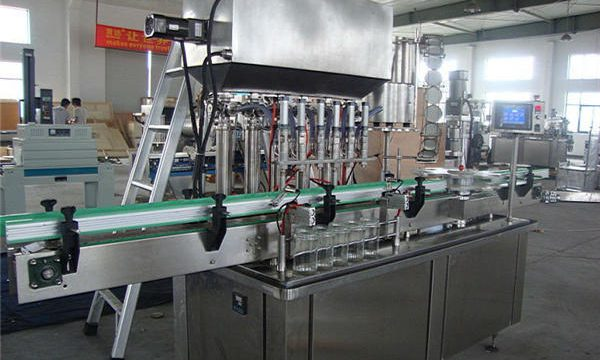 مکمل طور پر خودکار ٹماٹر کیچپ فلنگ مشین۔