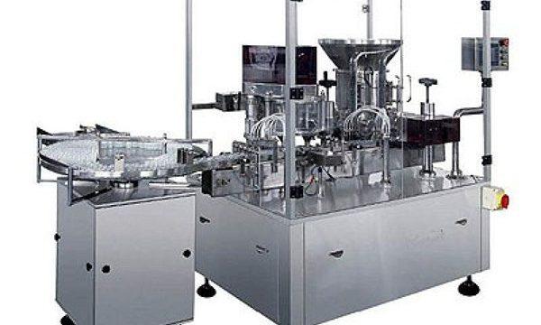 خشک پاؤڈر انجکشن بھرنے والی مشین۔