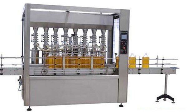 اعلی صحت سے متعلق خودکار چکنا کرنے والی / خوردنی تیل بھرنے والی مشین 2000ML-5000ML۔