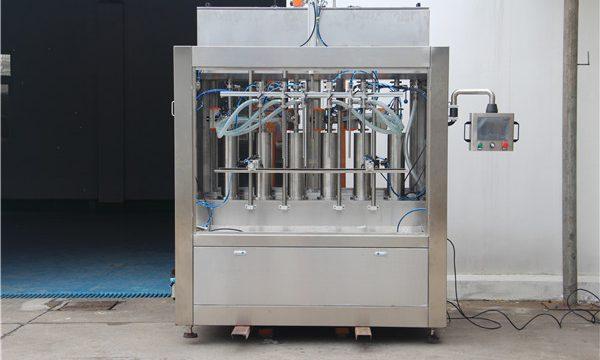 خالص نیومیٹک نیم خودکار ٹماٹر ساس بھرنے والی مشین۔