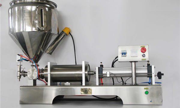 خالص نیومیٹک نیم خودکار پھل جام بھرنے والی مشین۔