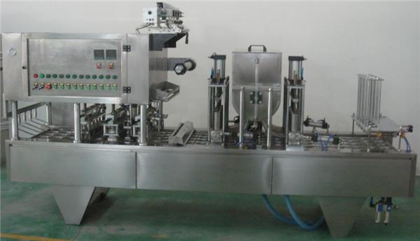 مکمل طور پر خودکار روٹری جام بھرنے والی مشین۔