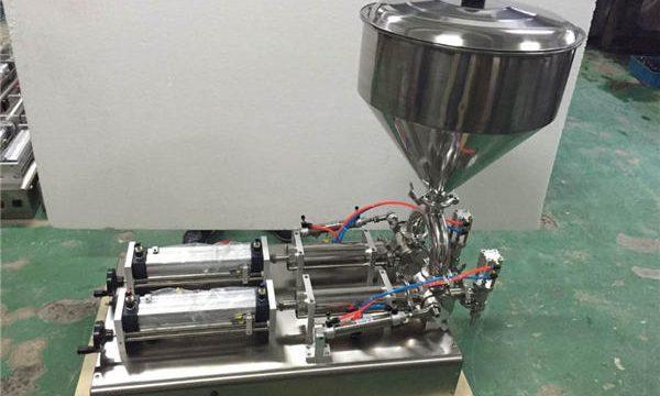 اسٹرابیری جام بھرنے والی مشین۔