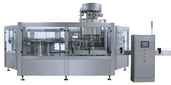 نیومیٹک بلیچ مائع بھرنے والی مشین۔