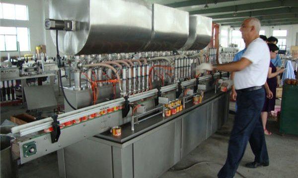 200-1000 ملی میٹر خودکار سویا ساس بھرنے والی مشین۔