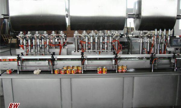 خودکار گرم پزا چٹنی بھرنے والی مشین