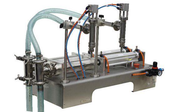 نیم خودکار Sachet مائع صابن بھرنے والی مشین
