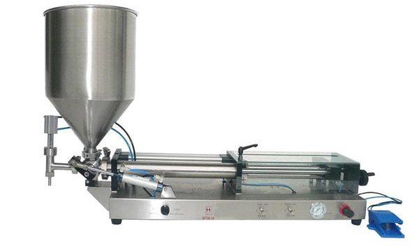 نیم خودکار کیچپ فلنگ مشین۔