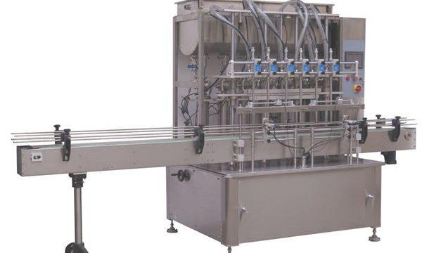 مکمل طور پر خودکار تھوک شیمپو مائعات پستن بھرنے والی مشین۔