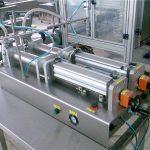 اچھے معیار کی ڈبل نوزلز مائع شیمپو بھرنے والی مشین۔