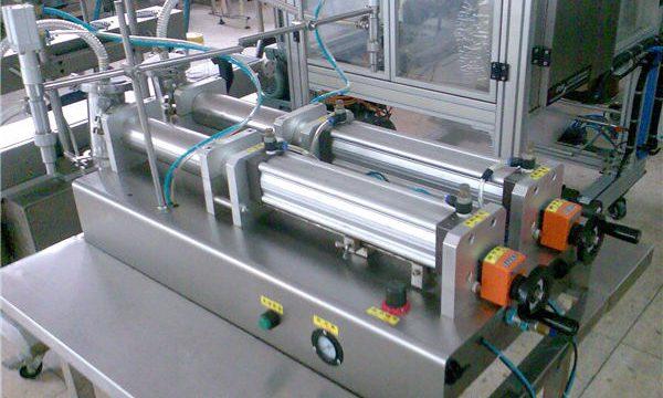 مسابقتی قیمت سیمی آٹومیٹک شیمپو بھرنے والی مشین۔