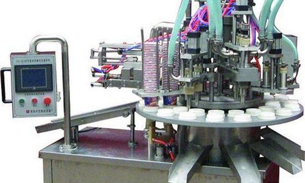 خودکار کاسمیٹک مرہم / کریم بھرنے والی مشین۔