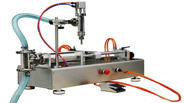 ڈبل ہیڈس نیومیٹک کریم بھرنے والی مشین 100-1000ML۔