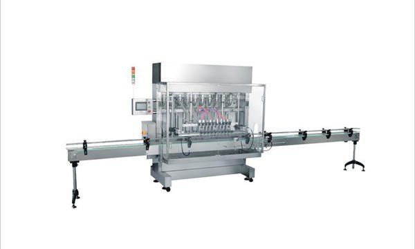 4 سربراہان خودکار مائع صابن ڈٹرجنٹ کاسمیٹک فلنگ مشین۔