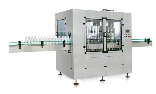 آٹھ سر آٹومیٹک لکیری پسٹن مائع صابن بھرنے والی مشین۔