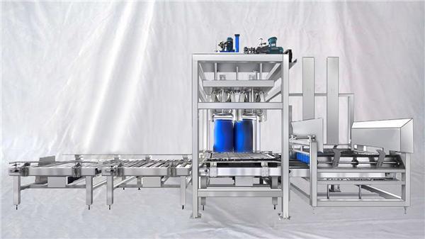 مرضی کے مطابق ای ایس ڈی ایف سیریز 100-1000L صلاحیت بڑی ڈھول خودکار فلنگ مشین۔