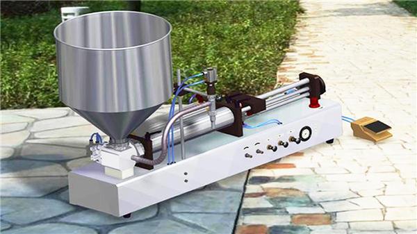 نیم آٹو عمودی ٹوت چسپاں کرنے والی مشین۔