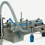 اعلی کوالٹی نیم آٹومیٹک پسٹن فلنگ مشین نیا ڈیزائن۔