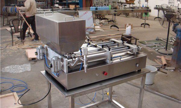 سب سے سستا نیومیٹک نیم آٹومیٹک جام بھرنے والی مشین۔